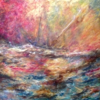 Passage Through Rough Waters - SOLD
